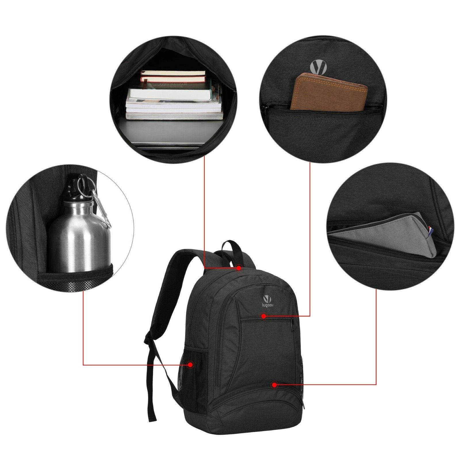 17 Big Capacity Casual Backpack