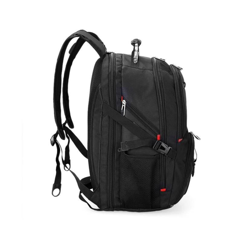17''Swiss Multifunctional Laptop Backpack Trip Waterproof Charge