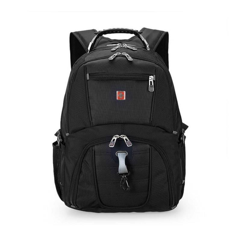 17''Swiss Multifunctional Laptop Trip Waterproof Camping USB Charge Bag