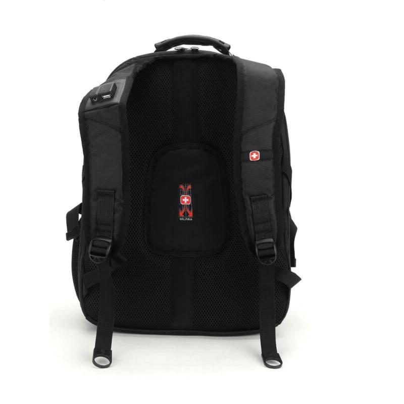 17''Swiss Trip USB Charge Bag