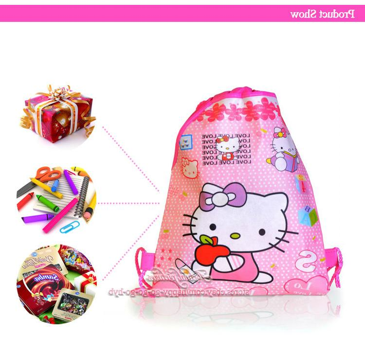 1PCS Children Cute Drawstring Backpacks Party Bags Gift