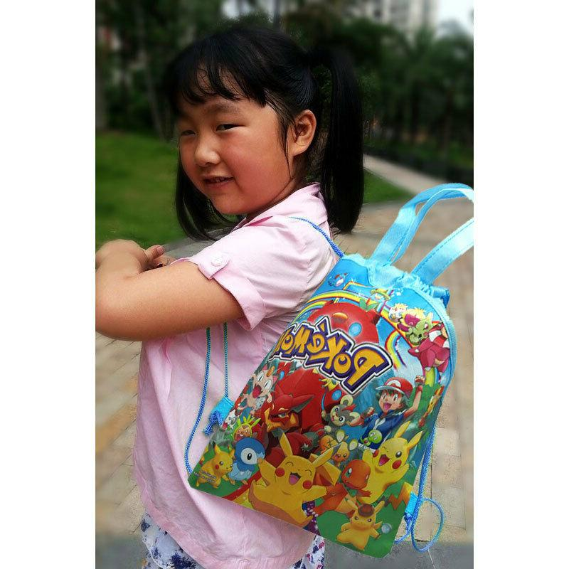 1PCS Drawstring Backpacks Party Bags