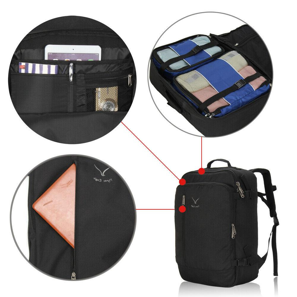 20'' Approved Carry-on Bag Travel Suitcase Backpack