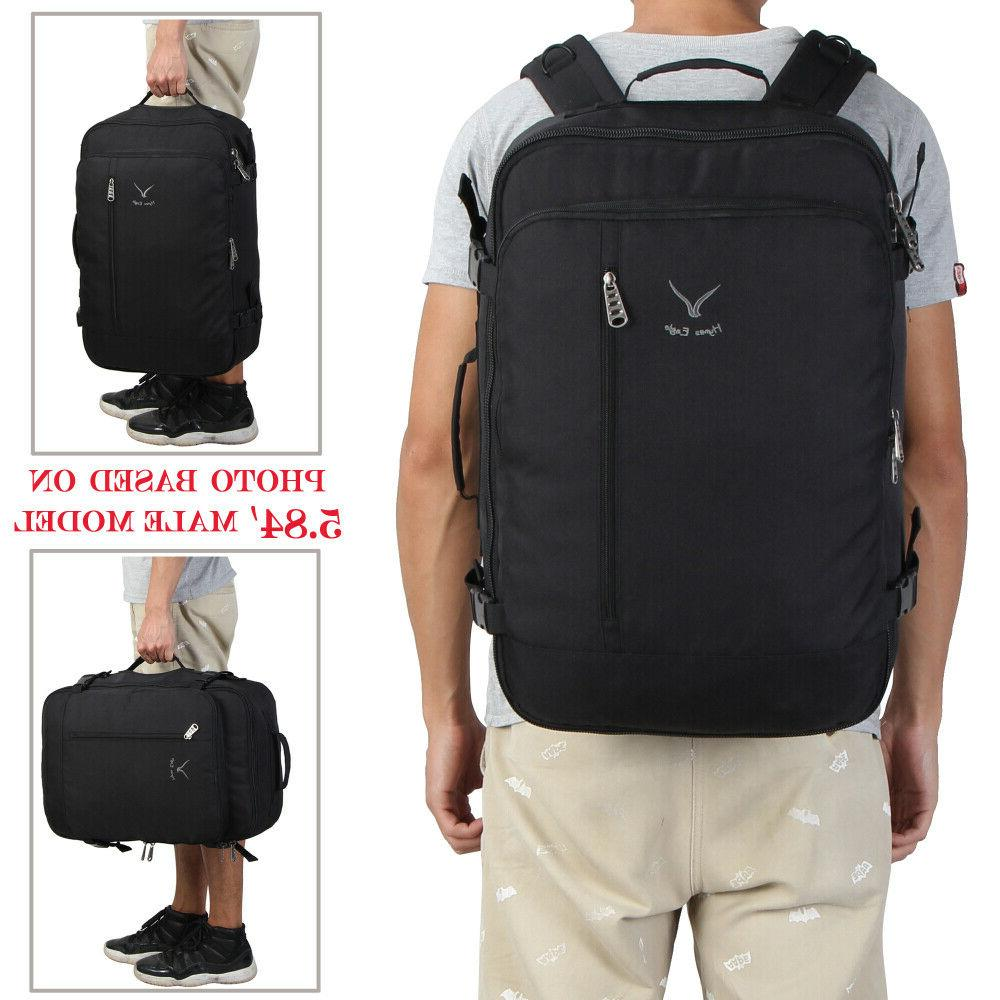 20'' Flight Carry-on Bag Convertible Suitcase Backpack