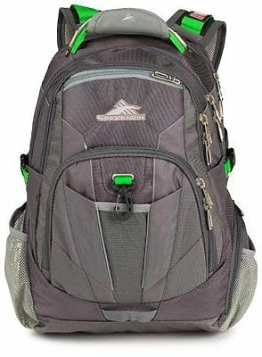 """20"""" Backpack - Laptops Charcoal Silver"""