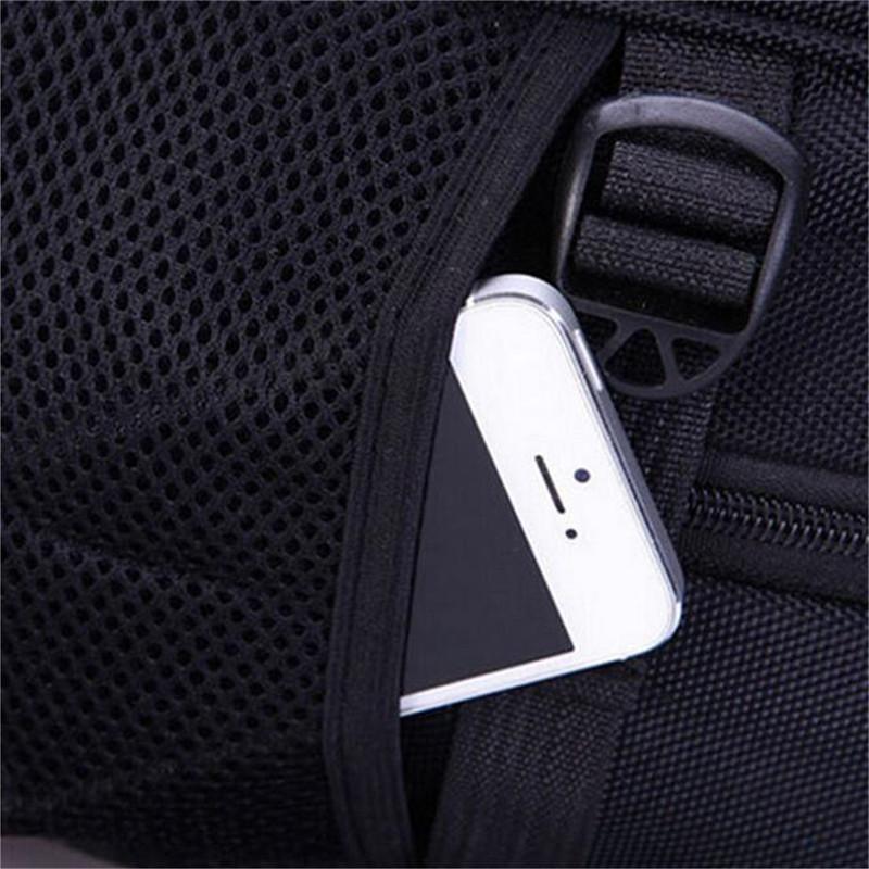 2018 Men's Business Nylon <font><b>Backpacks</b></font> Back Travel School Bags Laptop Rucksack