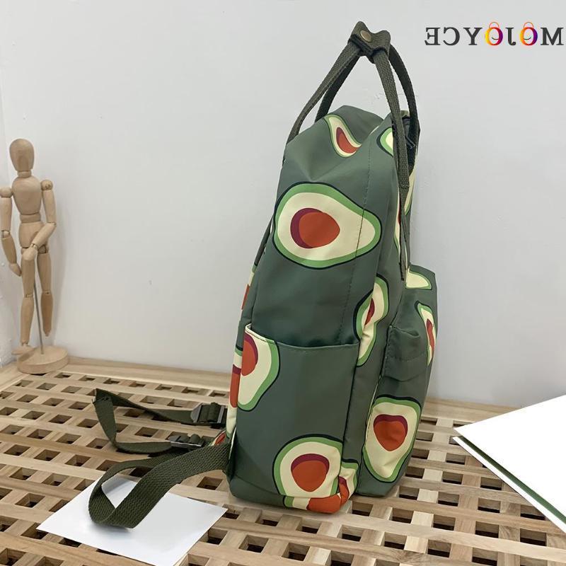 2019 Fruits Animals Print Large Capacity School Bagpack
