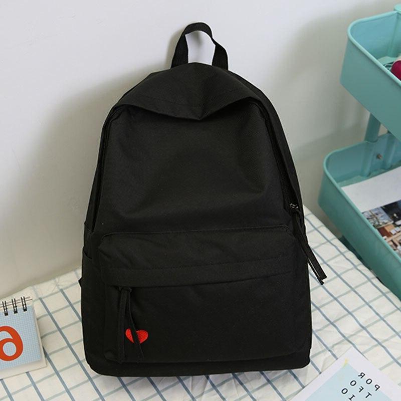 2019 new korean high school student schoolbag