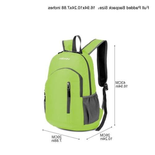 25L Backpack Hiking Bag Pack Outdoor Camping Travel