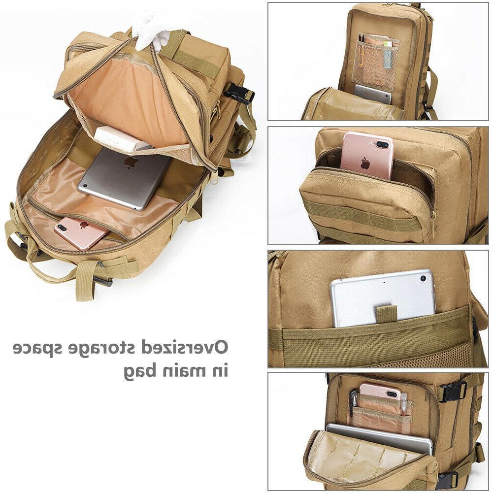 30L/35L/40L/80L Outdoor Military Tactical Rucksack Backpacks Camping Bag
