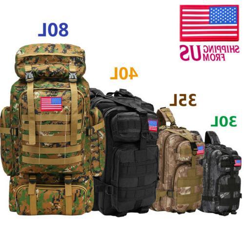 30l 40l 80l outdoor military rucksack tactical