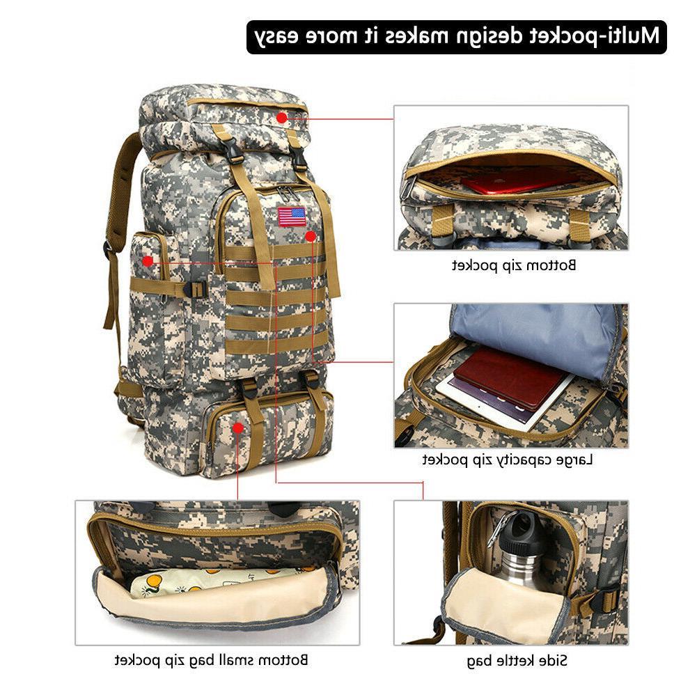 30L/35L/40L/80L Military Rucksack Hiking Bag