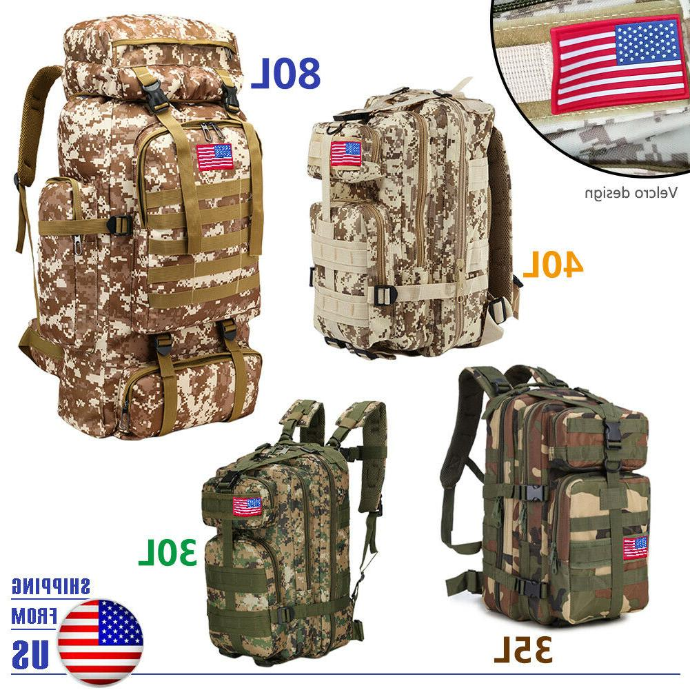 30L/35L/40L/80L Outdoor Rucksack Backpacks Hiking Bag