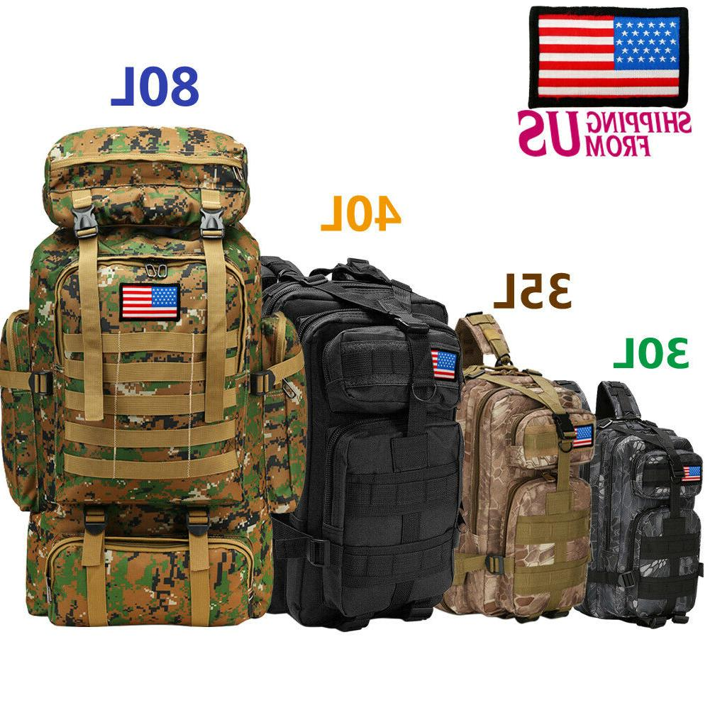 30l 40l 80l outdoor military rucksack tactical