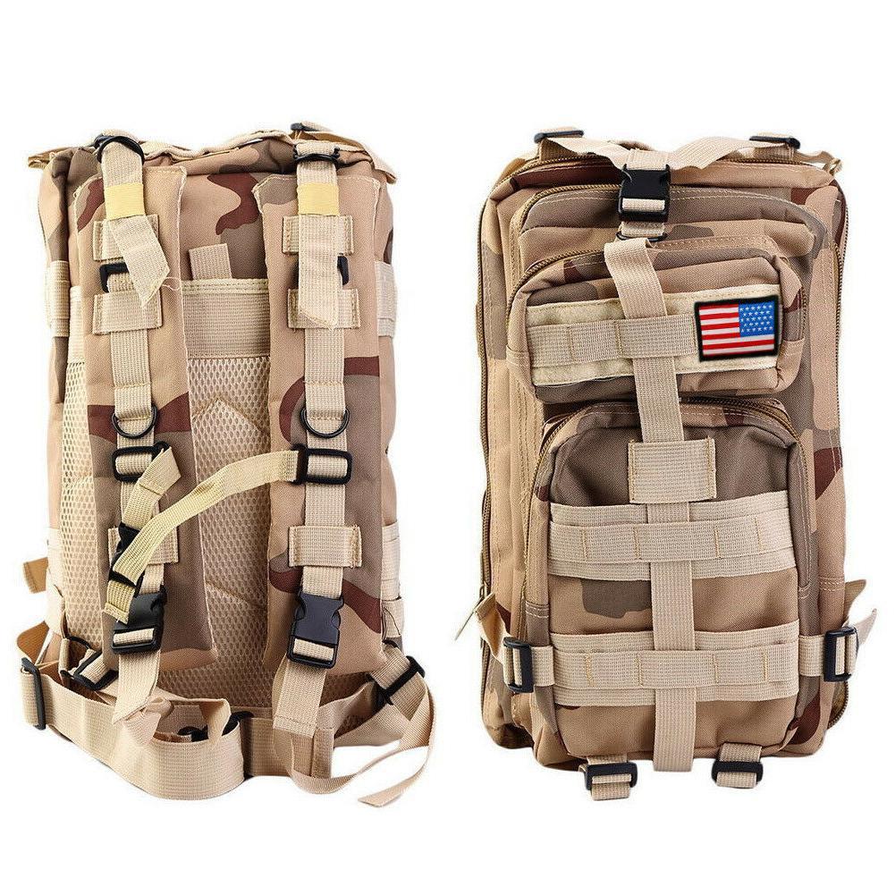 30L Assault Backpack Shoulders Pack