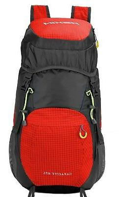 35L Foldable Outdoors Hiking Backpack Packable Lightweight S