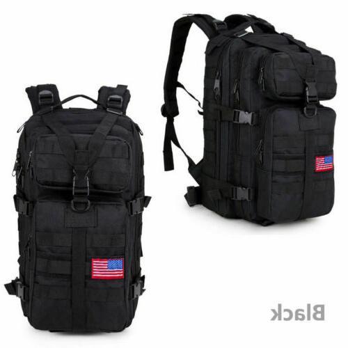 Outdoor Military Rucksack Backpack Hiking Trekking Bag