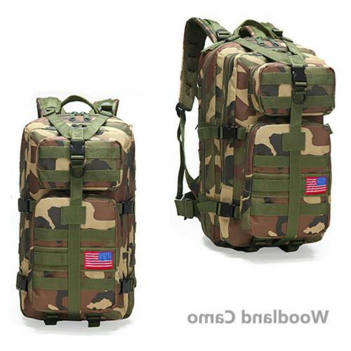 Outdoor Military Rucksack Backpack Camping Hiking
