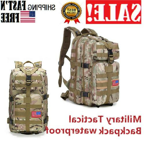 35l military outdoor tactical shoulder backpack sports