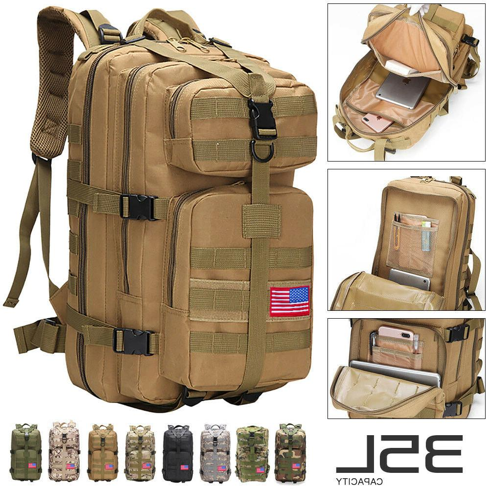 35l sport outdoor military rucksacks tactical molle