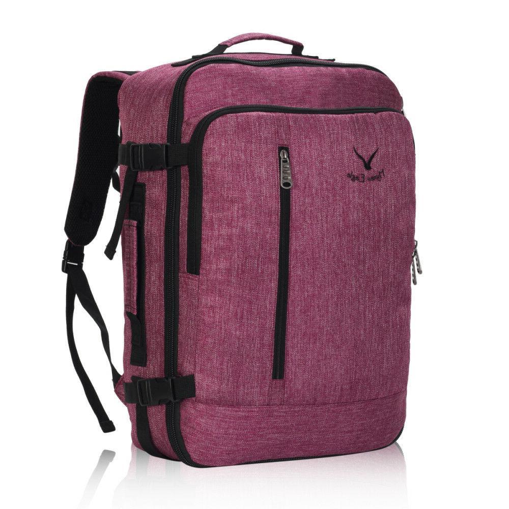20'' Flight Carry-on Bag Weekender Convertible Suitcase