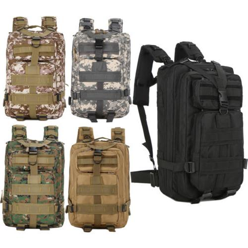 3P Outdoor Military Rucksack Tactical Backpack 30L Camping T