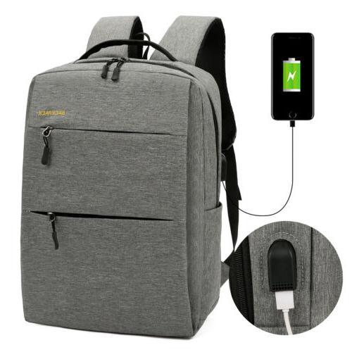 3PCS Men Girls Backpack School Bag