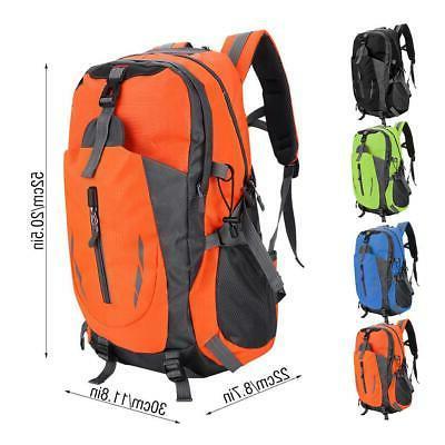 40L Travel Backpack Waterproof Outdoor Hiking Daypack Trekking Bag