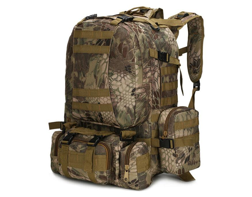 55L Molle Tactical Hiking Trekking