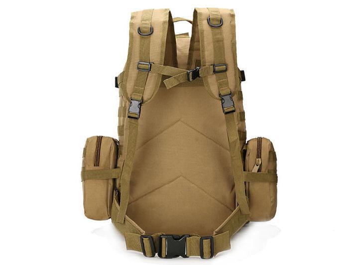 55L Tactical Bag Camping Trekking