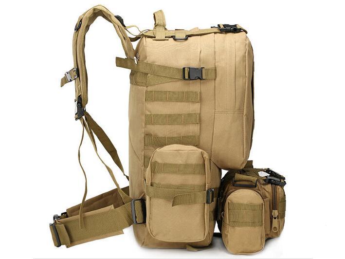 55L Molle Trekking Backpack