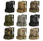 55l molle outdoor military bag camping hiking