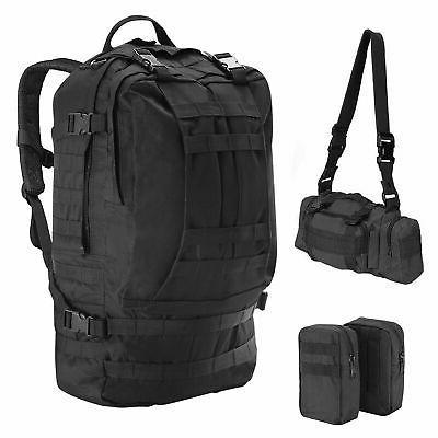 55L Military Assault Pack Camping Hiking Rucksack