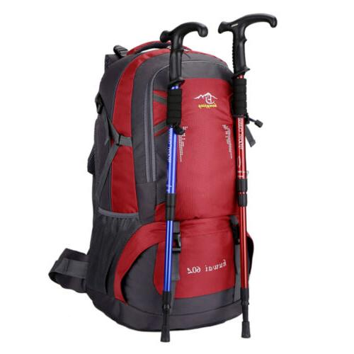 60L Camping Backpack Rucksack Hiking Day