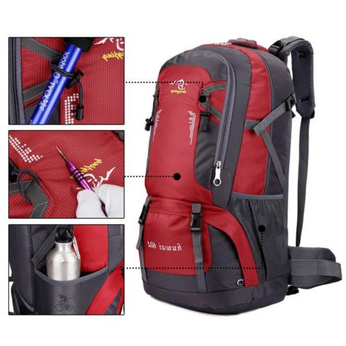60L Camping Backpack Rucksack Travel Day