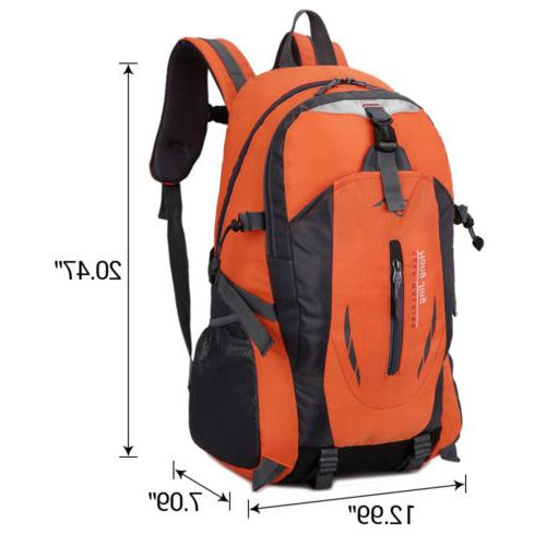 60L Outdoor Camping Backpack Rucksack Travel Climbing Day