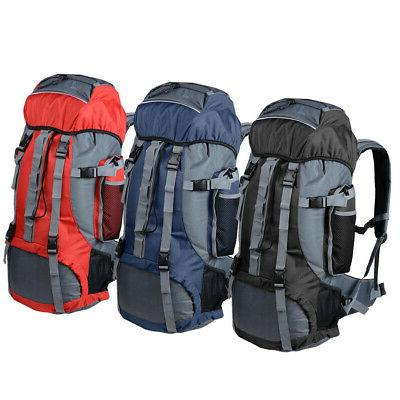 70l outdoor camping travel hiking bag backpack