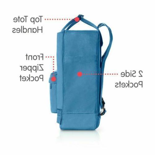 7L/16L/20L Classic Fjallraven Canvas Backpack Sport Shoulder Bag Handbag