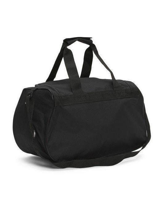 Adidas Duffel Bag BLACK GRAY handle Gym Locker NEW