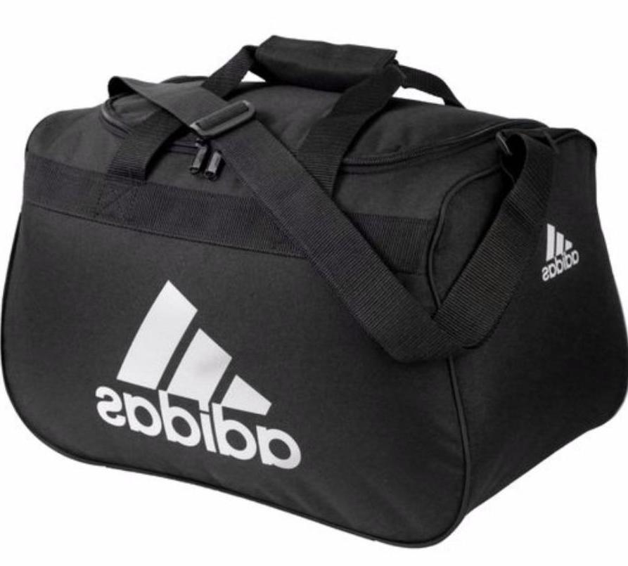 Adidas Diablo SMALL Duffel Bag BLACK GRAY Padded handle Fits