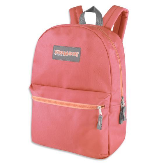 Case of 24 Wholesale Trailmaker 17 Backpacks Color Mix