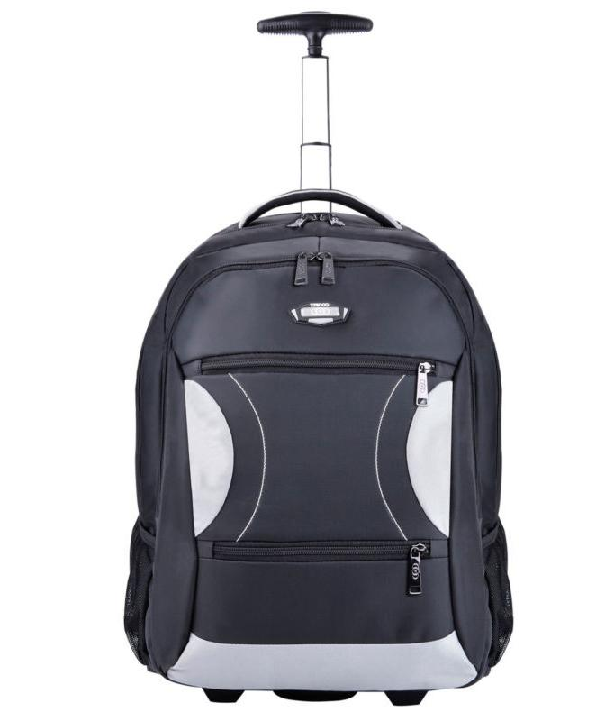 Coofit Deluxe Rolling Backpack 15 Inch Laptop Wheeled Backpa