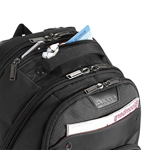 Everki EKP121-1 Atlas Checkpoint Friendly 17.3-Inch Laptop Backpack