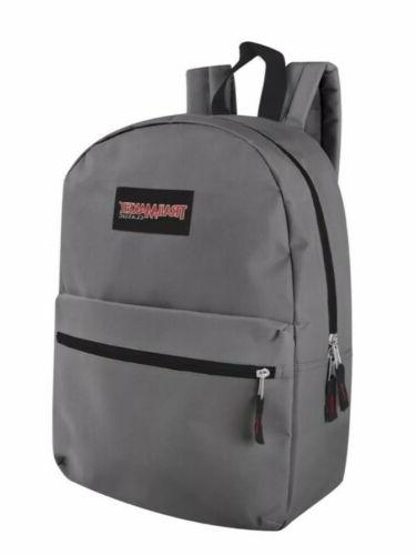 Lot 24 Wholesale Trailmaker Classic 17 Backpacks in Assorted Colors