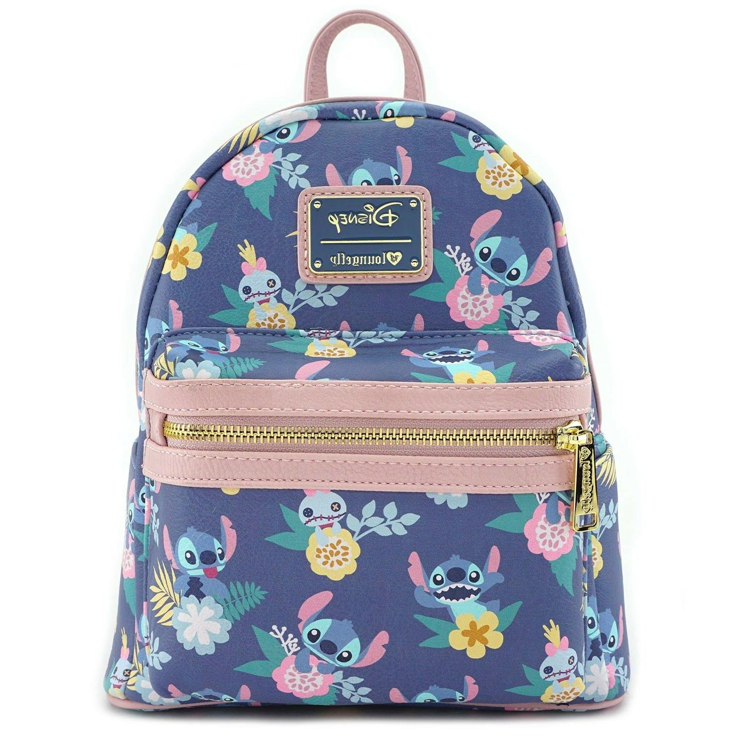 Loungefly Disney & Stitch Faux Leather Backpack