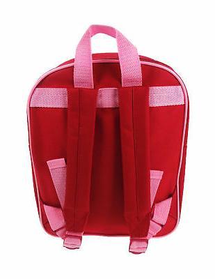 Peppa Pig Hopscotch Pink Backpack Child Toddler School Bag R