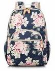 School Bookbags for Girls, Large Stylish Floral Laptop Backp