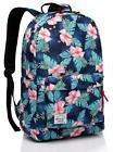School backpack,Fashion Korean Floral Middle Teen Girls Back