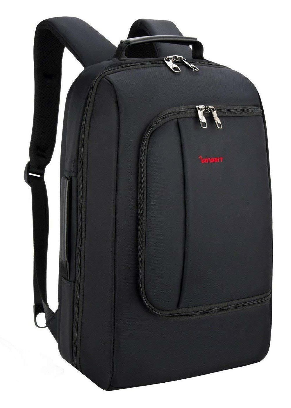 Slim Business Backpack for 15 15.6 Inch Laptops w/ USB Charg