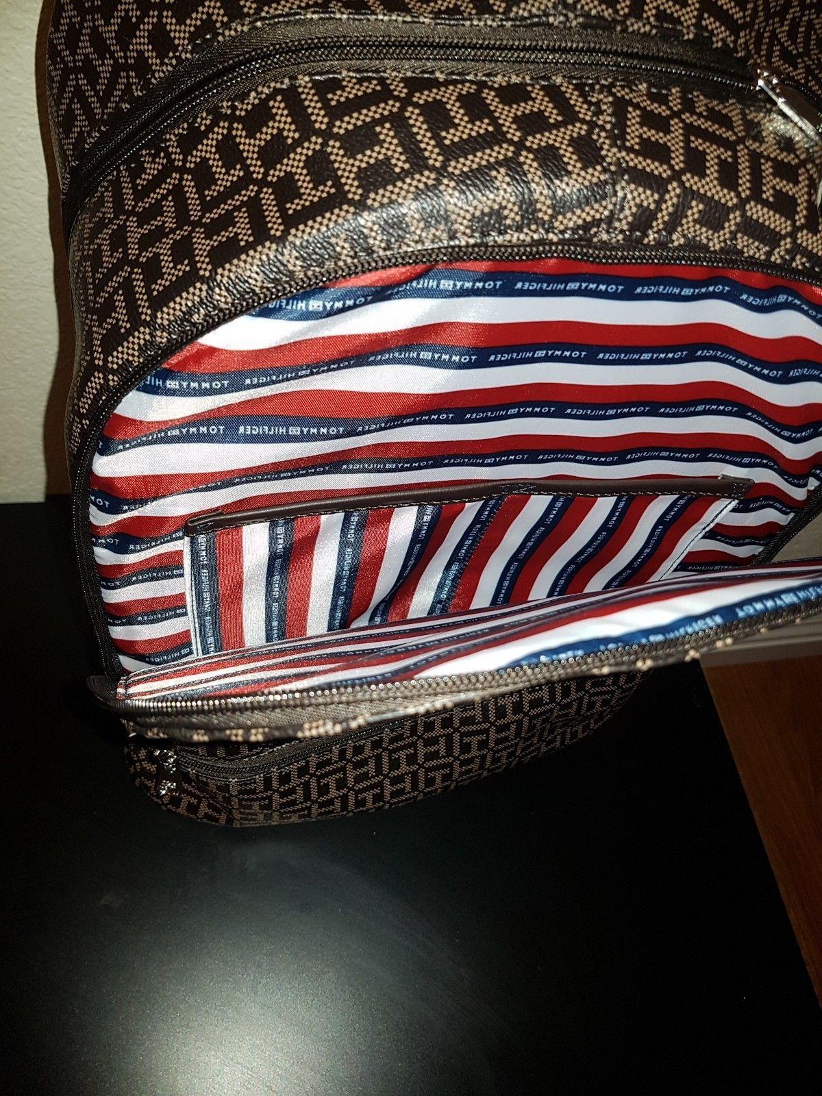 Tommy Hilfiger Dome Backpack Pockets Book Bag School